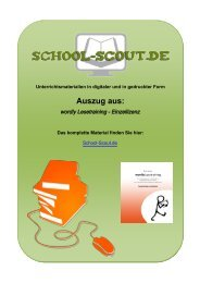 wordly Lesetraining - Einzellizenz - School-Scout