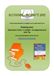 Mathe-Basics-Trainer / 2. Schuljahr ... - School-Scout