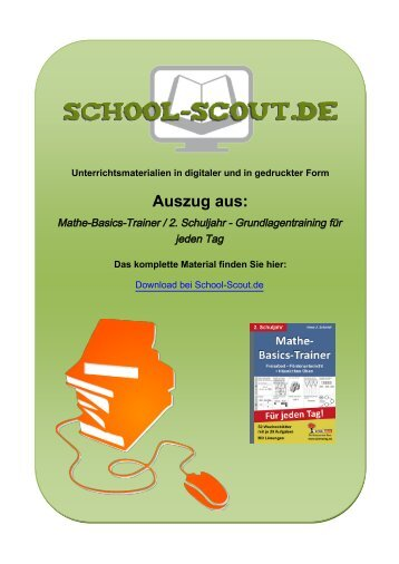 Mathe-Basics-Trainer / 2. Schuljahr ... - School-Scout