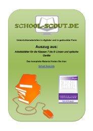 Arbeitsblätter für die Klassen 7 bis 9: Linsen und ... - School-Scout