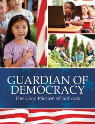 Guardian of Democracy: The Civic Mission of Schools - Civic Action ...