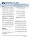 School Climate Research Summary—August 2012 - Page 2