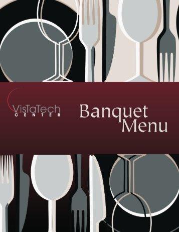 Banquet/catering menu - Schoolcraft College