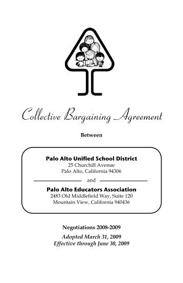 Collective Bargaining Agreement - School Information System
