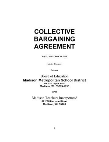 Collective bargaining agreement coal city high school collective bargaining agreement school information system platinumwayz