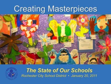Rochester, NY 2011 State of the Schools PDF Presentation