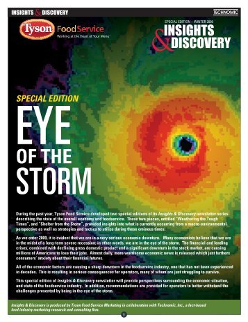 Eye of the Storm - School Nutrition Association