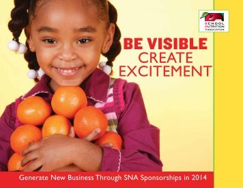 Sponsorship Brochure - School Nutrition Association