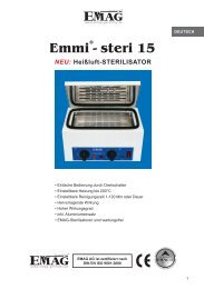 Emmi - steri 15 - Emag AG