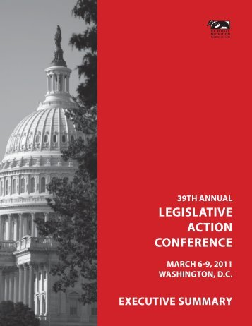 39th Annual Legislative Action Conference - School Nutrition ...