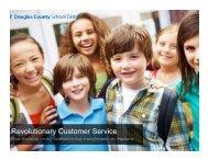 Revolutionary Customer Service - School Nutrition Association