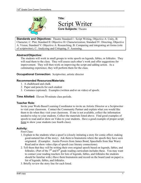 Script Writer