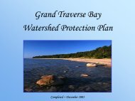 Grand Traverse Bay Watershed Protection Plan