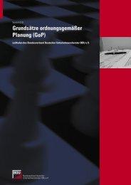 Grundsätze Planung - Schorle Unternehmensberatung