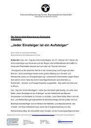 """""""Jeder Einsteiger ist ein Aufsteiger"""" - Der Schornsteinfeger"""
