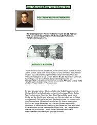 Vom Schornsteinfeger zum Ordensgründer Das Leben des Peter ...