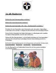 An alle Bauherren - Schornsteinfeger-Innung Koblenz