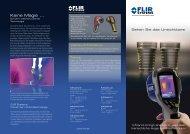 Info FLIR i5 - Schornsteinfeger-Innung Koblenz
