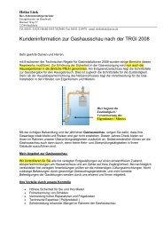 Gashausschau nach der TRGI 2008 - Schornsteinfeger in Buchholz ...