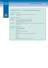Programm des 47. Landesinnungsverbandstages - LIV Baden ...