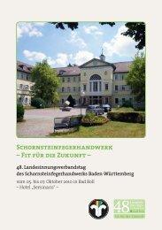 Schornsteinfegerhandwerk - LIV Baden- Württemberg