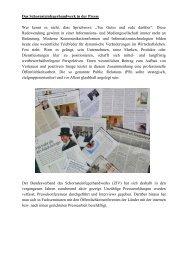 Das Schornsteinfegerhandwerk in der Presse Wer kennt es nicht ...
