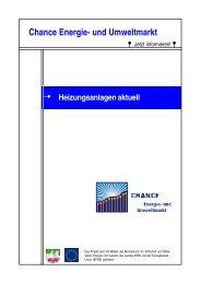 Heizungsanlagen aktuell - Der Schornsteinfeger