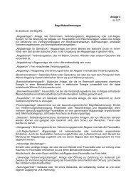 Begriffsbestimmungen - Schornsteinfeger Daniel Konradt