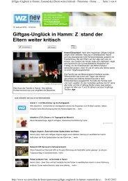 weitere Verletzte im Krankenhaus - Schornsteinfeger-maengel.de