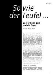 Doctor John Bull und die Orgel1 - Schott Music