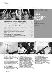 IM FOKUS: - Schott Music - CMS