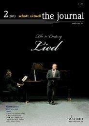 Heft 2 - Schott Music