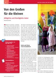 Leseprobe Musik in der Grundschule 2013/02