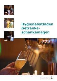 Hygieneleitfaden Getränke- schankanlagen - Deutscher Brauer ...