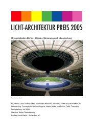 Olympiastadion Berlin – Umbau, Sanierung und ... - Schoyerer
