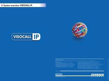 VISOCALL IP - system overview (PDF, 235.32 KB ) - Schrack Seconet
