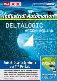 WA3000 Industrial Automation Juni 2014