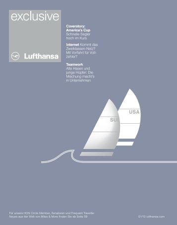 Lufthansa Exclusive - Matthias Schranner