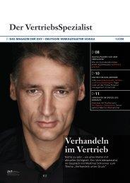 Der VertriebsSpezialist - Verhandeln im Vertrieb - Matthias Schranner