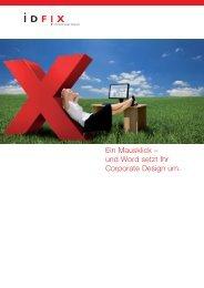 und Word setzt Ihr Corporate Design um. - Schreibwerkstatt GmbH