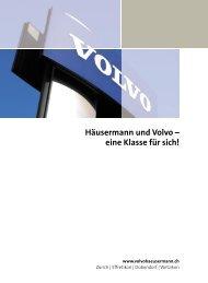Häusermann und Volvo - Schreibwerkstatt GmbH