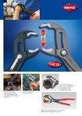KNIPEX-Cobra Wasserpumpenzangen - Schreinerhandel.de - Page 3