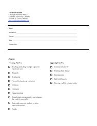Fair Use Checklist Copyright Advisory Office Columbia University ...