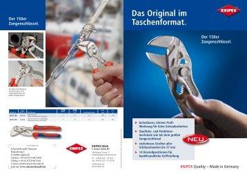 Das Original im Taschenformat. - Schreinerhandel.de