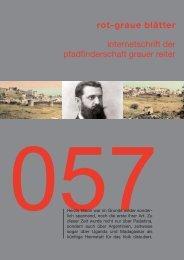 rgb 057 - Schriftleitung der Pfadfinderschaft Grauer Reiter
