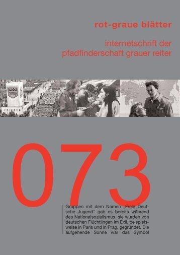 rgb 073 - Die Schriftleitung