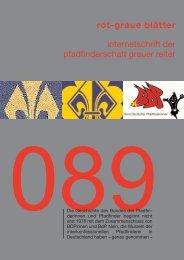 rgb 089 - Die Schriftleitung
