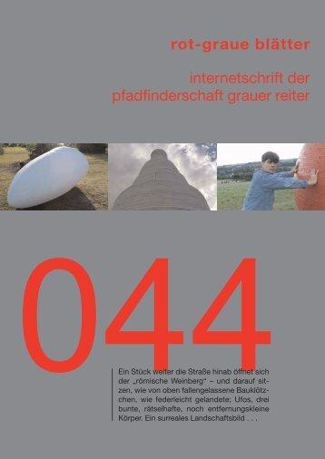 rgb 044 - Die Schriftleitung