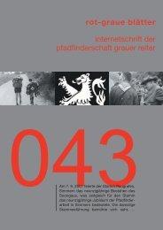 rgb 043 - Die Schriftleitung