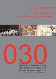 rgb 030 - Die Schriftleitung